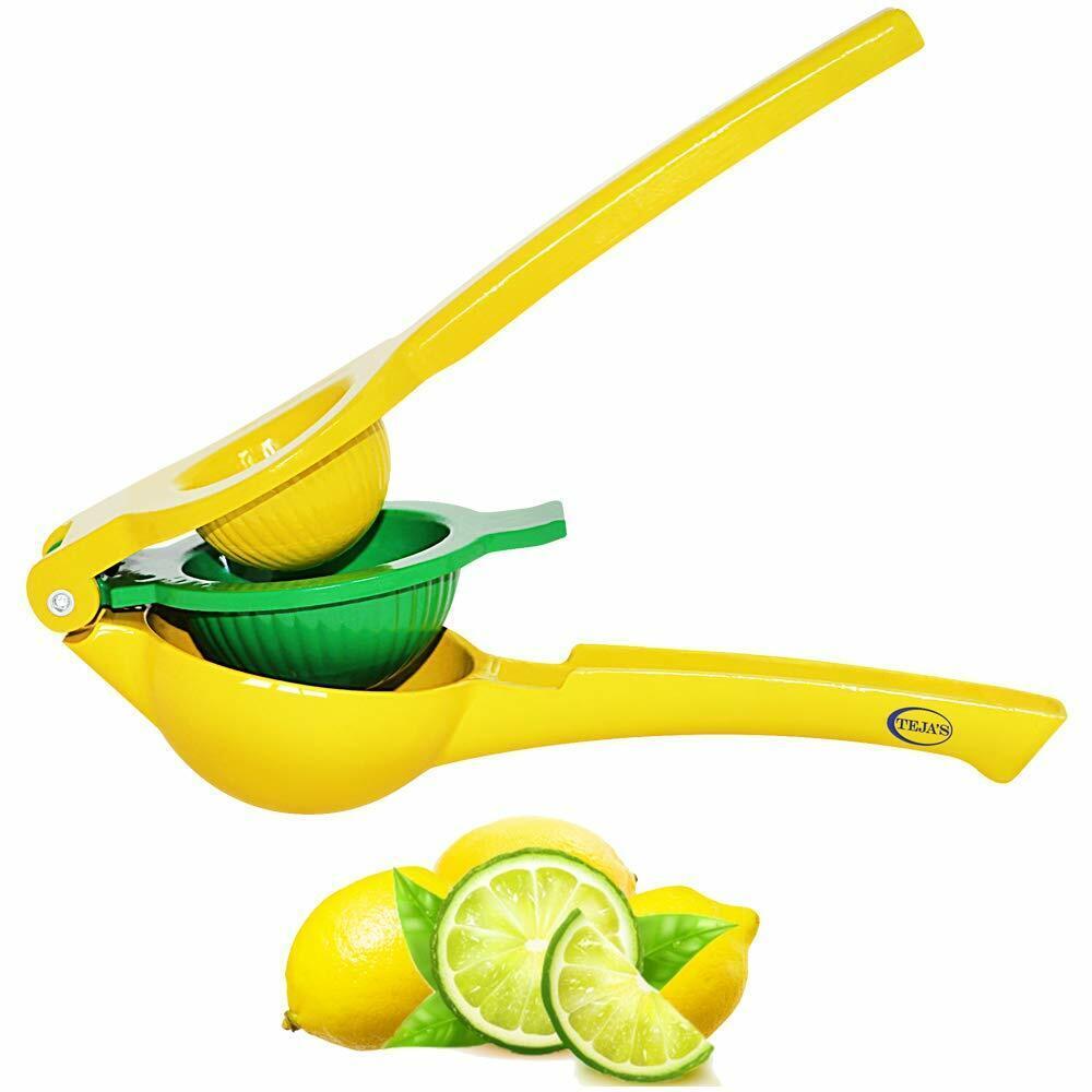Lemon Lime Squeezers By Teja's- Citrus Hand Press Juicers
