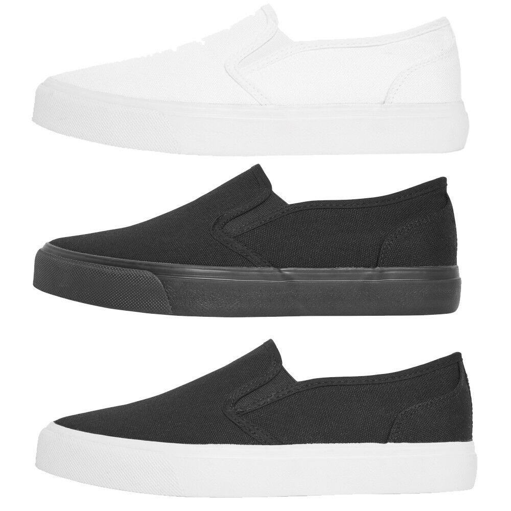 Urban Classics Low Sneaker Stoff Schuhe Slip on Sommer Outdoor Espadrille