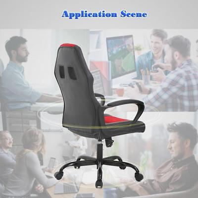 Home Office Chair, Ergonomic Executive PU Gaming Chair, Rolling Metal Base Chair Business & Industrial