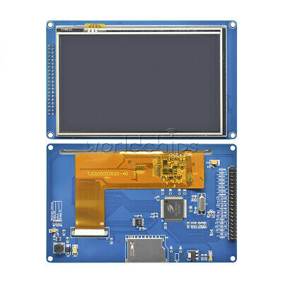 5.0 800x480 Tft Lcd Module Display Touch Panel Ssd1963 For 51 Avr Stm32