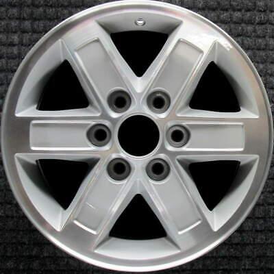 GMC Sierra 1500 Machined 17 inch OEM Wheel 2007 to 2014
