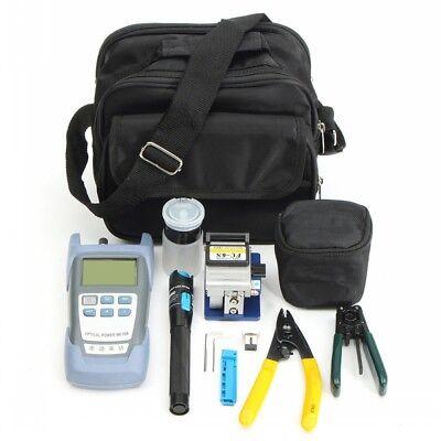 13pcs Fiber Optic Ftth Tool Kit Fc-6s Cutter Fiber Cleaver Optical Power Meter