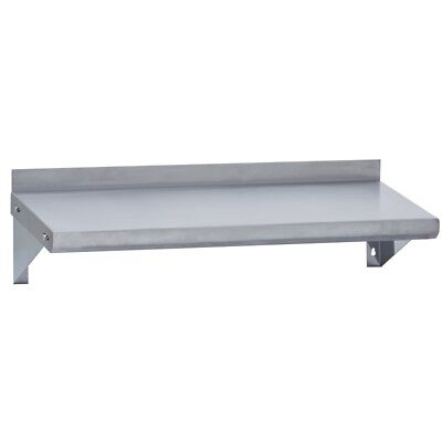 Stainless Steel Commercial Wall Mounted Shelf 18x48