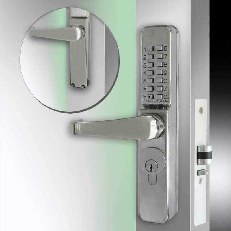 Codelocks CL465 Narrow Stile Threaded (CL465L-SS)