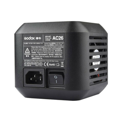 Godox AC Power Unit AC Adapter AC26 for AD600Pro  All-in-One Outdoor Flash