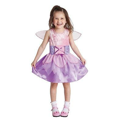 Little Girl Fairy Costume (Halloween costume Little Fairy Princess Girl's Girl size 2-4 NWT Totally Ghoul)