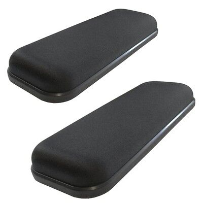 Ultimate Gel Armrest Arm Pads For Office Chairs & Wheelchairs 2 Piece Set