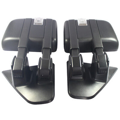 Pair Tow Mirrors Power Heated Turn Signal Puddle Lamp For Ford F150 2004-2006