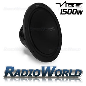 Vibe-Slick-S15-15-Sub-Subwoofer-1500W-Bass-Speaker-Car-Audio