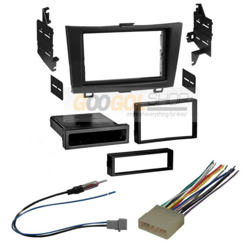 Double DIN Car Stereo Radio Dash install Kit for 2007-2011 Honda CRV (CR-V)