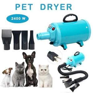 Portable Dog Cat Pet Grooming Dryer 2400w Salon Hair Dryer - BRAND NEW - FREE SHIPPING