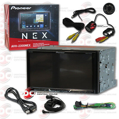 """PIONEER CAR 2-DIN 7"""" DVD BLUETOOTH CARPLAY ANDROID AUTO STEREO FREE REAR CAMERA"""