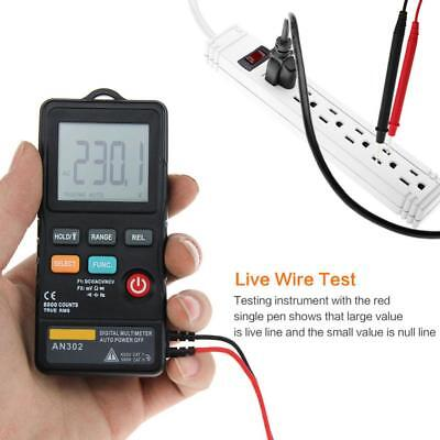 Aneng An302 Digital Multimeter 8000count Ture Rms Resistance Voltage Meter Ghs