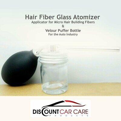 Hair Fiber Glass Atomizer - Applicator for Micro Hair