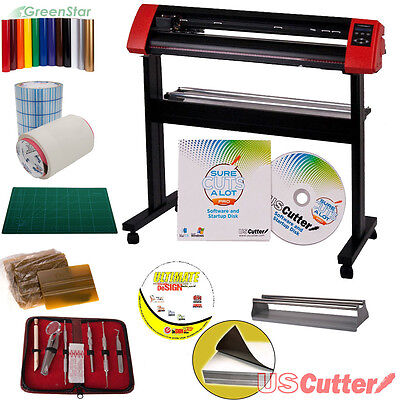 25-Inch Laserpoint II Vinyl Cutter Bundle w/Sure Cuts A Lot, Make Signs, decals