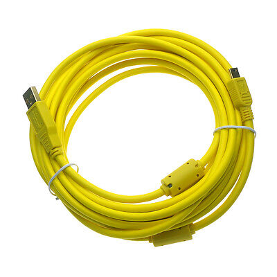 16FT Tether Cable Photography f/ Canon 5D Mark III II T6s T6i T5i T5 T4i 7D 70D