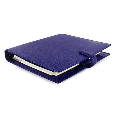 1xfashion Filofax A5 Finsbury Organiser Planner Diary Book Electric Blue Leather