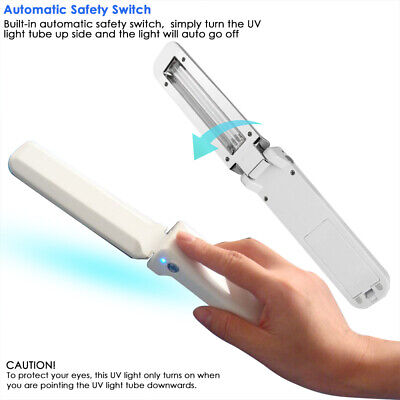 UVC Light Mini Sanitizer Travel Wand UV Light Without Chemicals for Hotels -
