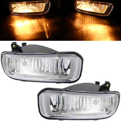 Pair Front Left & Right Assembly Fog Lights Lamps For 2004-2006 Ford F-150 FAST