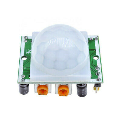 2pcs Pyroelectric Infrared Ir Pir Motion Sensor Detector Module Hc-sr501