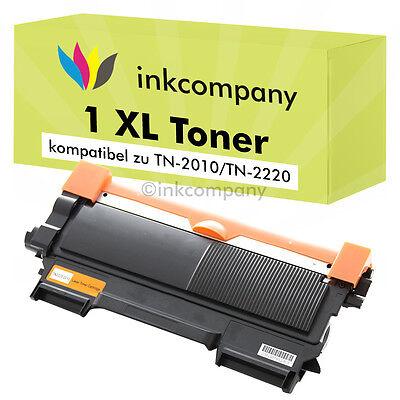 1 Toner kompatibel zu Brother TN 2220 XL BLACK SCHWARZ für den Drucker HL-2270DW