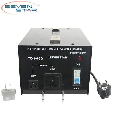 Sevenstar Tc-3000 Watt 110v-220 Volt Updown Transformer Heavy-duty Converter