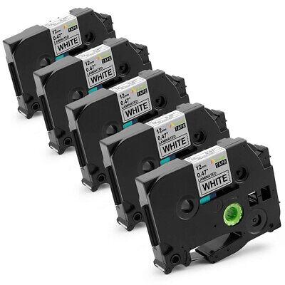 Tze-231 Tz-231 Compatible For Brother P-touch Label Maker Tape Tz 12mm Pt-d210