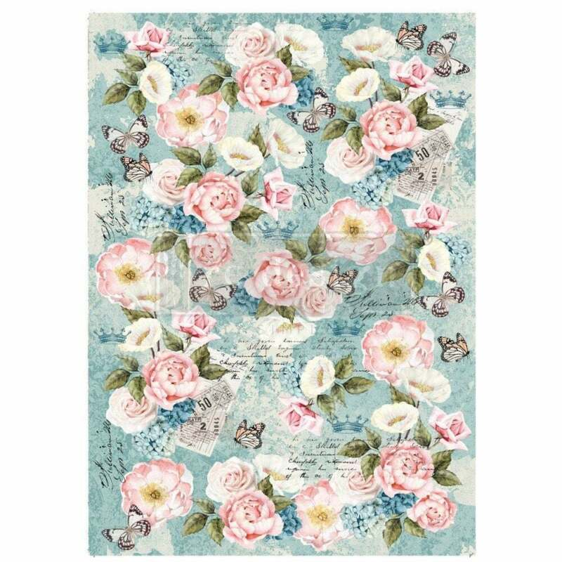 Zola Decoupage Decor paper by redesign with Prima!