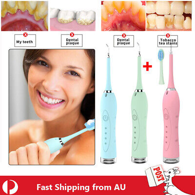 New Electric Ultrasonic Dental Scaler Tooth Stains Tartar Cleaner Teeth Whiten