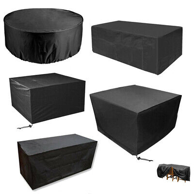 Waterproof Garden Patio Furniture Cover for Rattan Table Chair Cube Seat Outdoor ()
