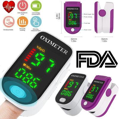 Finger Pulse Oximeter Blood Oxygen Fda Blood Oxygen Spo2 Pr Monitor Oximeter Usa
