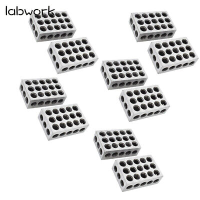 5 Matched Pairs Ultra Precision 1-2-3 Blocks 23 Holes .0001 Machinist 123