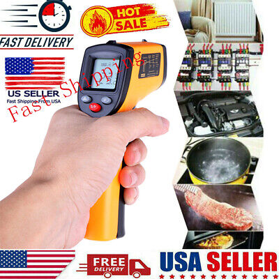 Digital Thermometer Infrared Temperature Gun Non-contact Ir Laser Point -58626