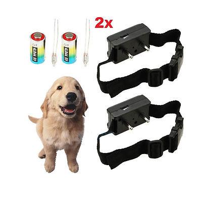 Anti Bark No Barking Tone Shock Control Training Collar for Small Medium Dog