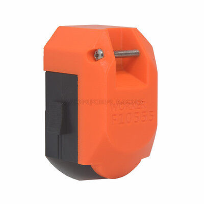 Worker Mod F10555 3D printing Shoulder Stock for Nerf Stryfe Toy Color Orange