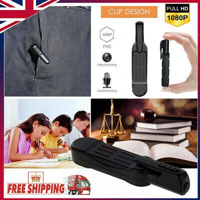 Covert Hidden Spy Camera Pen Audio Video Hd Recording Cam Minidvr Recorder UK