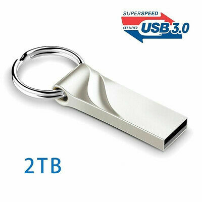 USB 3.0 Flash Drive 2TB High-Speed Data Storage Thumb Stick Store Movies (Parkway Stores)