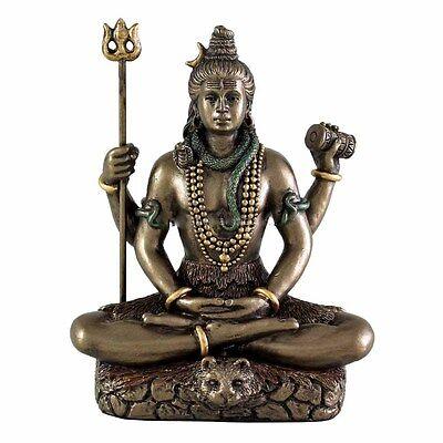 Hindu God Shiva - The Destroyer 3.25 NEW Resin Figure (3300)SEATED SHIVA STATUE