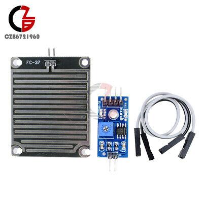 Raindrops Detection Sensor Module Weather Rain Monitor Humidity For Arduino