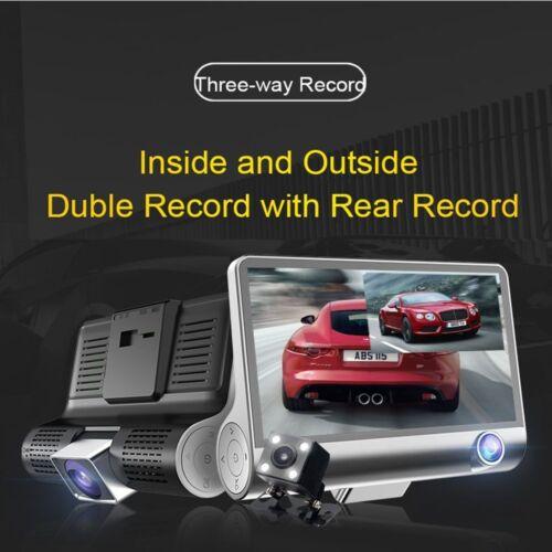 4'' 1080p hd 3 lens car dvr vi... Image 4