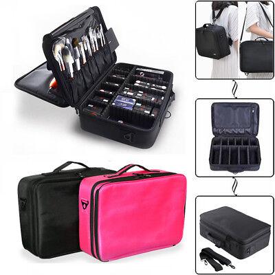 Professional Makeup Bag Cosmetic Case Storage Handle Organizer Travel Kit US - Cheap Make Up Kit