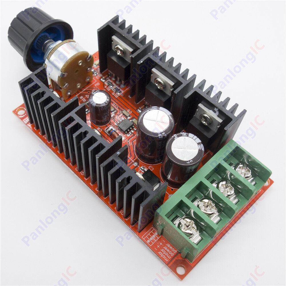 10-50V 40A DC Motor Speed Control PWM HHO RC Controller 12V 24V 48V 2000W
