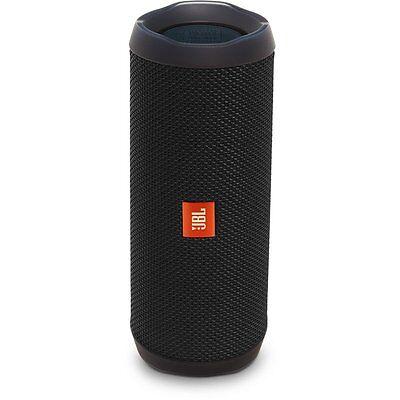 New Sealed JBL Flip 4 Waterproof Portable Bluetooth Speaker (Black)