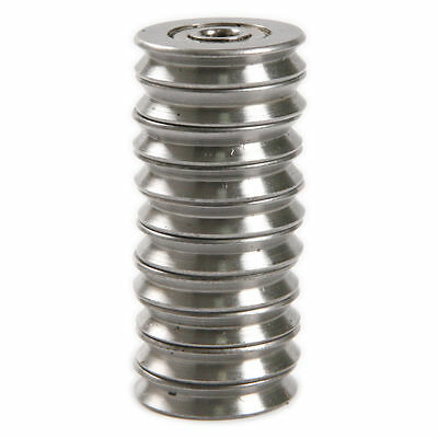 10pcs 5225mm Metal 1.5mm Deep V Groove Guide Pulley Rail Ball Bearings Wheel