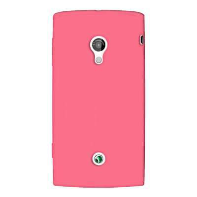 AMZER Silicone Skin Jelly Case Cover For Sony Ericsson Xperia X10 - Baby Pink for sale  Shipping to India
