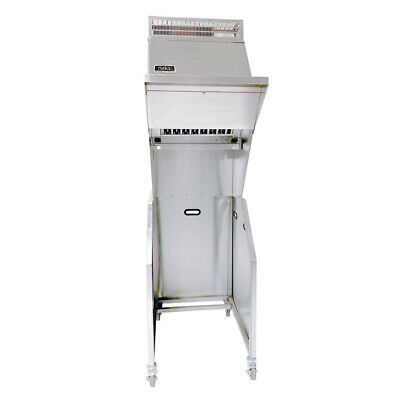 Naks Portable Pressure Fryer Ventless Hood 24 W Ansul R-102 Fire Suppression