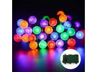 2 lots0f Super Bright Battery Powered Fairy String Lights at 50 LED 13.1ft bundle