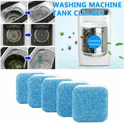 Washing Machine Effervescent Tablet Washer Cleaner Cleaning Tablets NEW