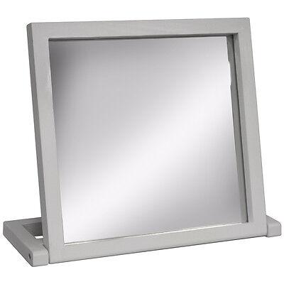 Freistehende Badezimmer-spiegel (Holz Freistehend Umklappbar Badezimmer Schminktisch-Spiegel - Weiß Yrwhmr110w)