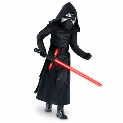 NWT Genuine Disney Store Kylo Ren Costume Star Wars:The Force Awakens Kids sz:4